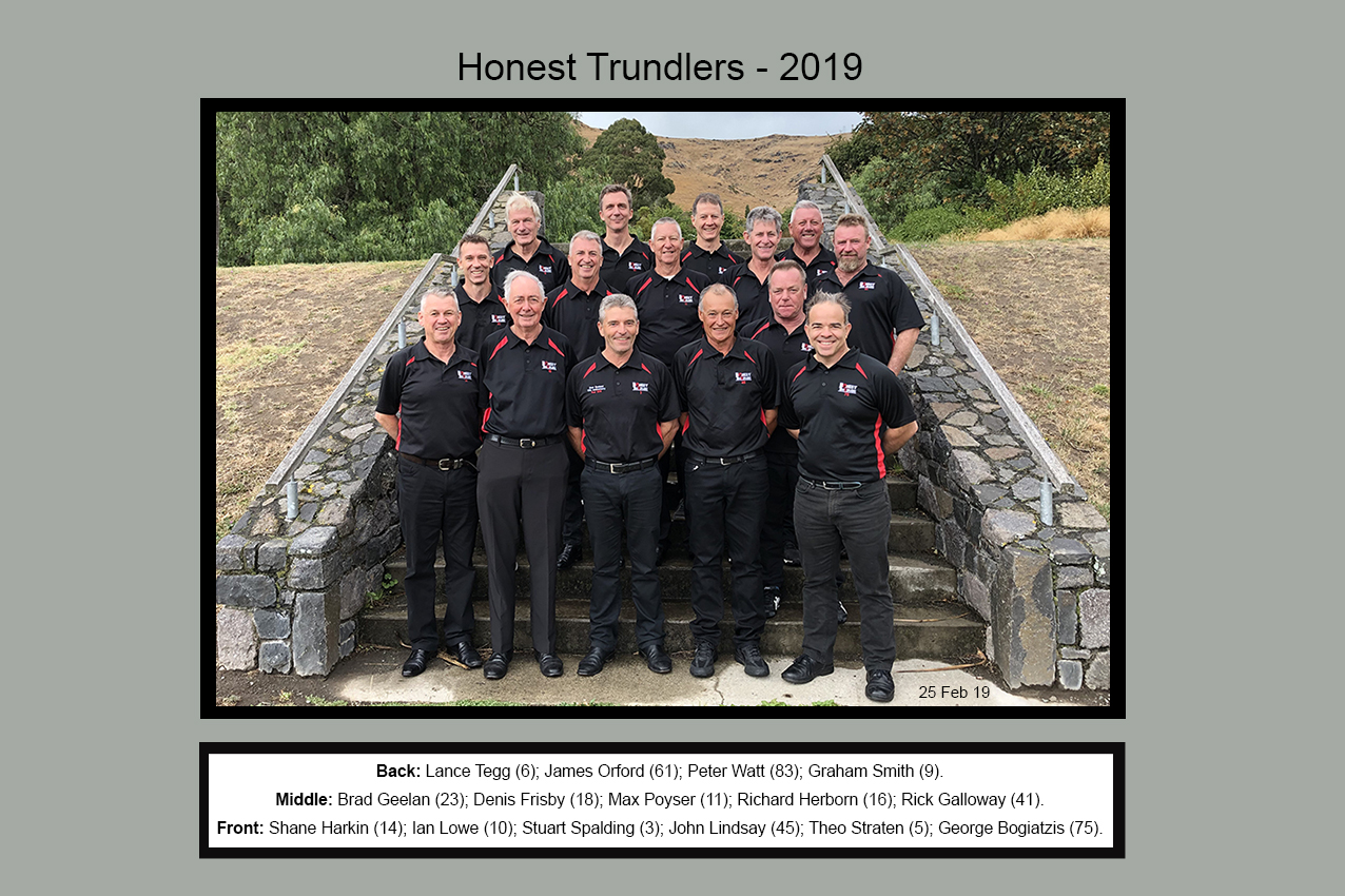 Honest Trundlers - 2019 ChristChurch Official Edition