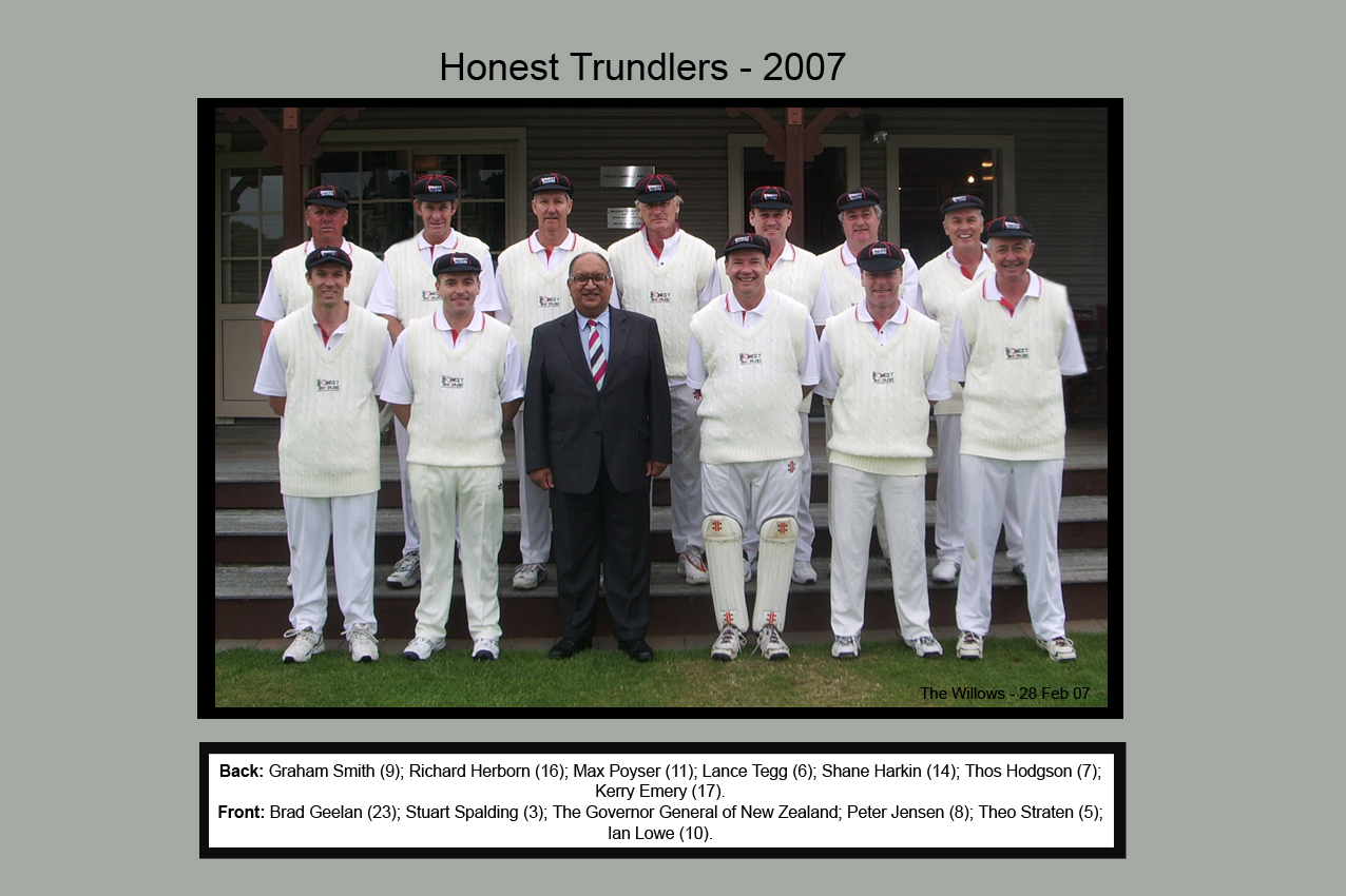 Honest Trundlers - ChristChurch 2007 Official Edition