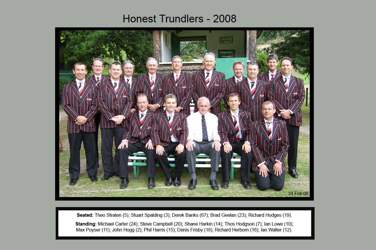 Honest Trundlers - ChristChurch 2008 Official Edition