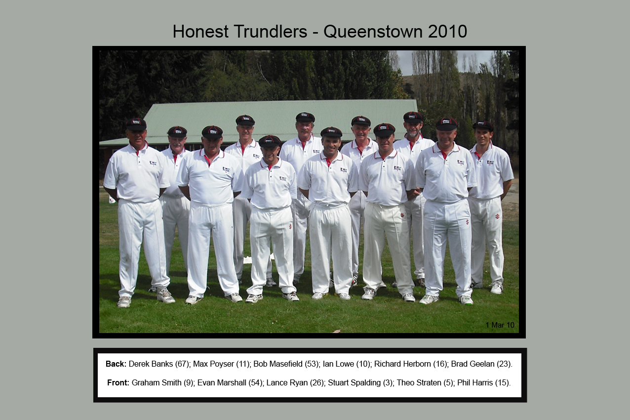 Honest Trundlers - Queenstown 2010 Official Edition